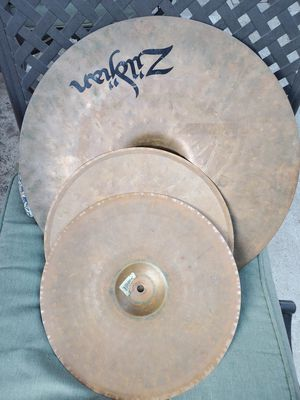 """💥Zildjian ZBT Cymbals💥 20"""" Ride and 14"""" hihat pair for drumset🥁 for Sale in Long Beach, CA"""
