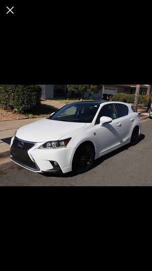 2016 Lexus CT 200h F Sport for Sale in El Cajon, CA