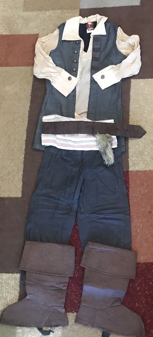 Disney Costume CAPTAIN JACK SPARROW Youth Medium for Sale for sale  Chino, CA