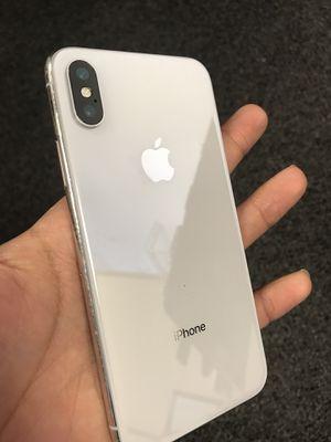iPhone X 64gb Sprint/Boost for Sale in Virginia Beach, VA