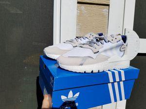Adidas Nite Jogger 3M Collab Triple White for Sale in Grand Prairie, TX