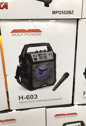 Max power speaker for Sale in Kinston, NC