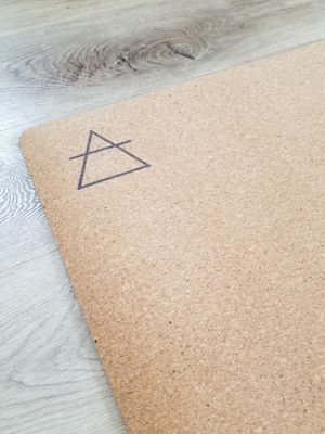 Eco-friendly cork Yoga Mat for Sale in Laguna Beach, CA