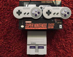 """Official Super Nintendo """"Mini"""" $30 for Sale in Cleveland, OH"""