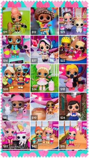 LOL Surprise Dolls! Many Dolls and Sets for Sale in Coral Gables, FL