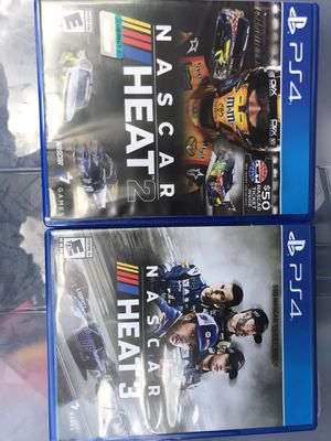 PlayStation 4 nascar heat 2 3 ps4 for Sale in Miami, FL