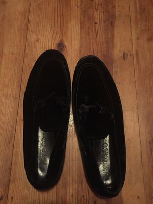 Black Velvet Jimmy Choo Shoes Size 44 for Sale in Los Angeles, CA