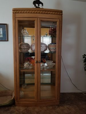 Curio or China Cabinet for Sale in Las Vegas, NV