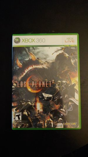 XBOX 360 Lost Planet 2 XBOX Live Complete Works for Sale in Tacoma, WA