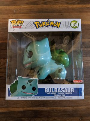 Pop Funko Target Exclusive 10 inch Pokemon Bulbasaur #454 for Sale in Parma, OH
