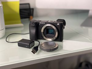 Sony A6300 in mint condition body and 1 battery for Sale in Rancho Cucamonga, CA