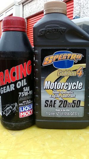 75% less than ebay Motorcycle oil&gear oil for Sale in Denver, CO
