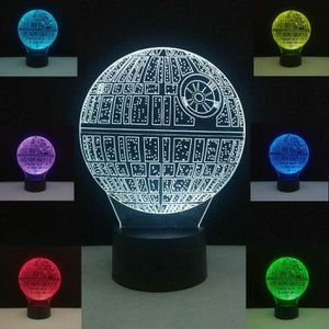 NEW STAR WARS 3D LAMP DEATH STAR TABLE LAMP/NIGHT LIGHT *** for Sale in Dallas, TX