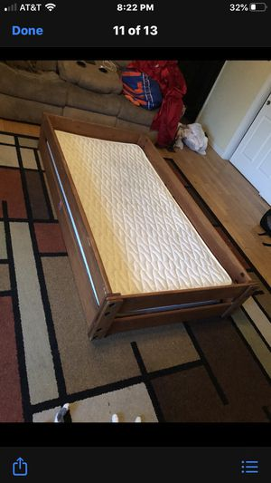 Twin bed w/mattress and frame for Sale in New Milford, CT