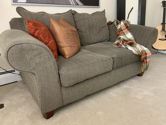 Sage Green Couch & Love Seat for Sale in Mentor,  OH