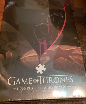 1000 Piece Game of Thrones Puzzle for Sale in Philadelphia, PA