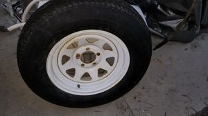 Trailer Tire in excellent condition; 5 Hole- See also: Aluminum Rim-Item https://offerup.com/item/detail/929314727/ for Sale in Miami, FL