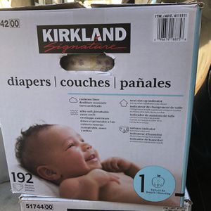 Kirkland Diapers for Sale in Long Beach, CA