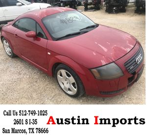 mk1 Audi TT 1.8 Turbo Quttro Parts Parting out Bumper Doors exhaust trunk fenders head lights stereo front rear left right glass engine brakes hatch for Sale in San Marcos, TX