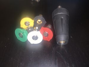 Pressure Washer Nozzle Tip w/ Turbo Nozzle for Sale in Hollywood, FL