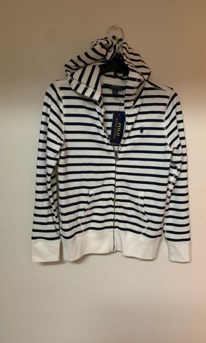 Big girls Polo Ralph Lauren hoodie jacket size M(8-10) for Sale in Plantation, FL