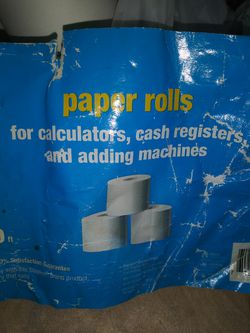Paper Rolls For Adding Machines And Cash Register. for Sale in Long Beach,  CA