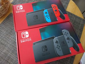 Nintendo Switch NEW!! V2 Latest version Available in grey and neon colors for Sale in Fort Lauderdale, FL