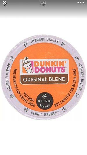 6 boxes of keurig coffee original blend 60 kcups for Sale in Long Branch, NJ