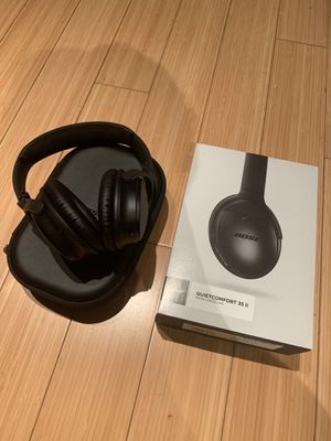 Bose QuietComfort 35 II wireless headphones II Noise cancellation with box for Sale in West Los Angeles, CA