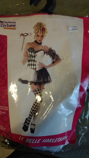 Le Belle Harlequin Halloween costume for Sale in Las Vegas, NV