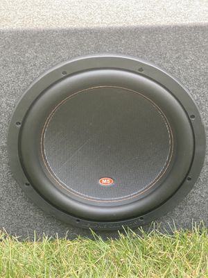 12 Memphis M512D4 subwoofer 1,200 watts max 600 rms $275 firm for Sale in West Dundee, IL