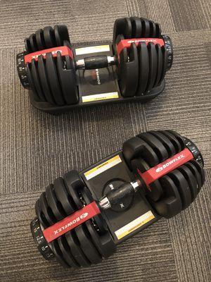 Bowflex SelectTech 552 Adjustable Dumbbells *LIKE NEW* for Sale in Seattle, WA