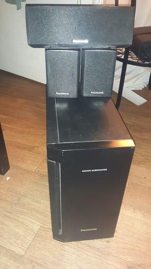 Panasonic Speaker/Subwoofer Set for Sale in Denver, CO