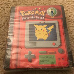 Pokémon Card binder for Sale in Anaheim, CA