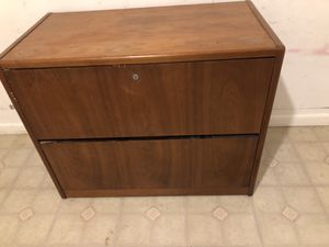 Wood Filing cabinet for Sale in Tampa, FL