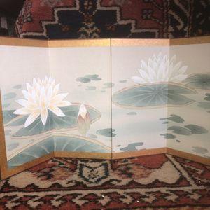 Asian Folding Table Screen for Sale in Whittier, CA