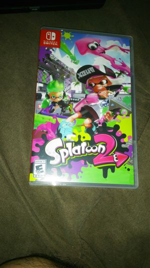 Splatoon 2 Nintendo switch TRADE for Mario kart or super smash for Sale in Akron, OH