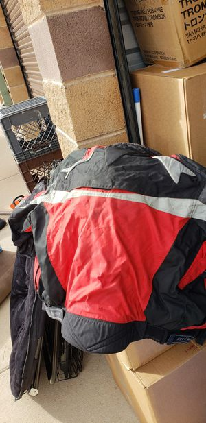 Motorcycle gear 2 coats 1 helmet for Sale in Colorado Springs, CO