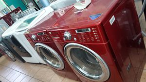 Lg washer and dryer red for Sale in Hawthorne, CA