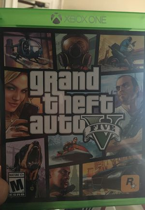 Grand Theft Auto Five(Xbox one) for Sale in San Diego, CA