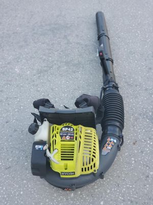 Ryobi back pack blower bp42 185 mph for Sale in NEW PRT RCHY, FL