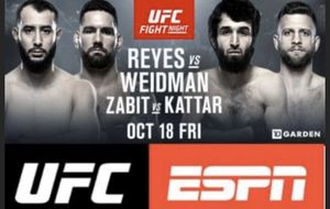 UFC fight night for Sale in Boston, MA
