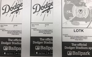 Dodger tickets for Sale in Monterey Park, CA