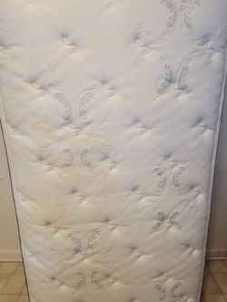 Twin Mattress, Box Spring & Bed Frame for Sale in Conshohocken,  PA