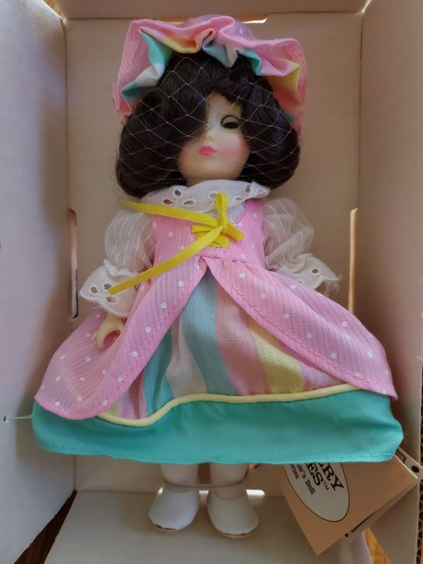 """Vintage Ideal 8"""" Collector Doll Little Miss Muffet"""