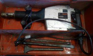 BOSCH Electric Demolition Hammer W/3-Chisel Bits & Steel Case / #11305 for Sale in Seminole, FL