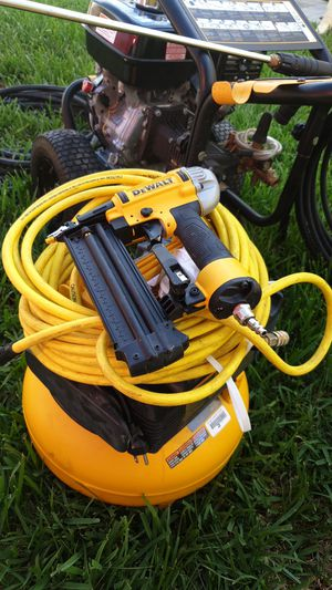 Dewalt compressor and nail gun for Sale in New Port Richey, FL