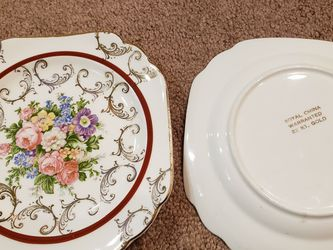 "Vintage- Royal China- set of 5 decorative salad plates. 7"" for Sale in Churchville,  PA"