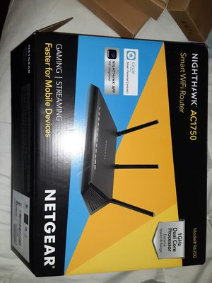 New NETGEAR NIGHTHAWK wifi ROUTER for Sale in Las Vegas, NV