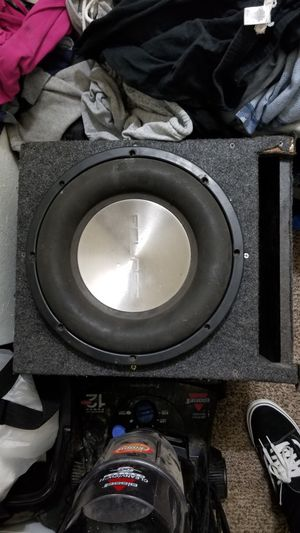 12 inch Eclipse dual 4 ohm subwoofer for Sale in Stockton, CA